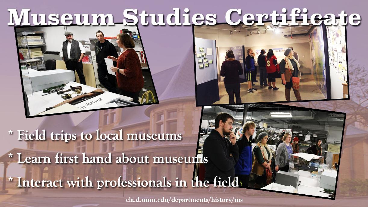 Photo: Museum Studies Certificate
