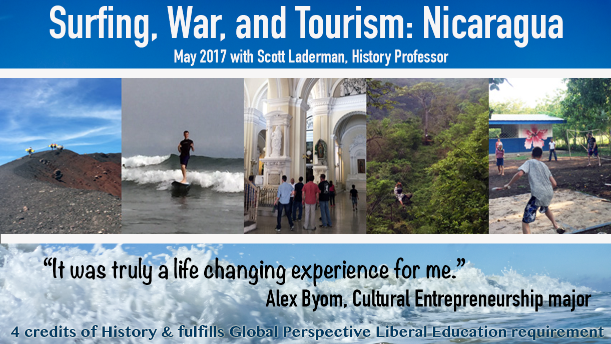 Photo: Surfing, War, and Tourism: Nicaragua