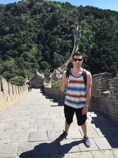 Pablo on the Great Wall of China (2016)