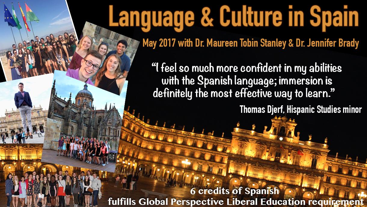 Salamanca, Spain collage