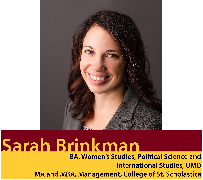 Alumni Photo: Sarah Brinkman