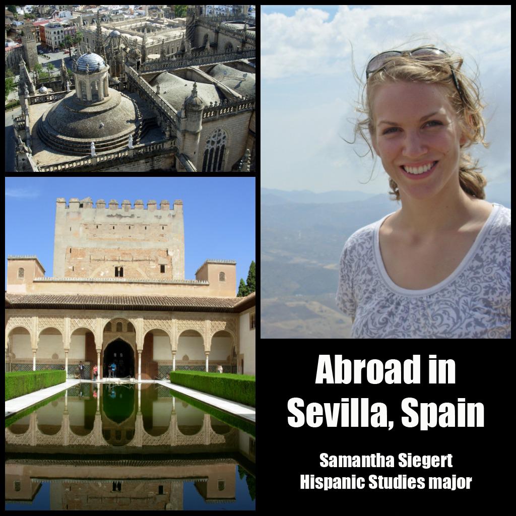 Samantha Siegert: Sevilla, Spain