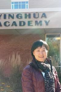 Weiqing Zhang at Yingua Academy in China