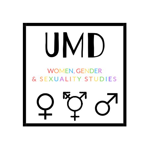 logo with colorful gender symbols