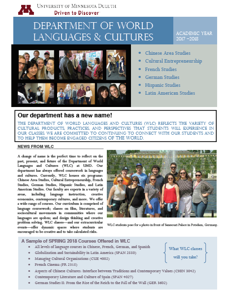 WLC Newsletter Fall 2017
