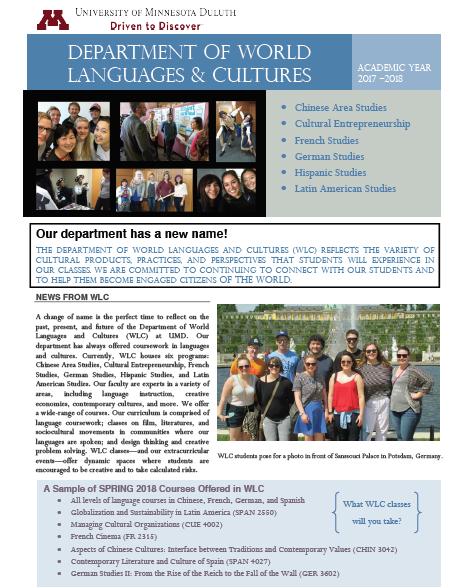 WLC Newsletter Fall 2017
