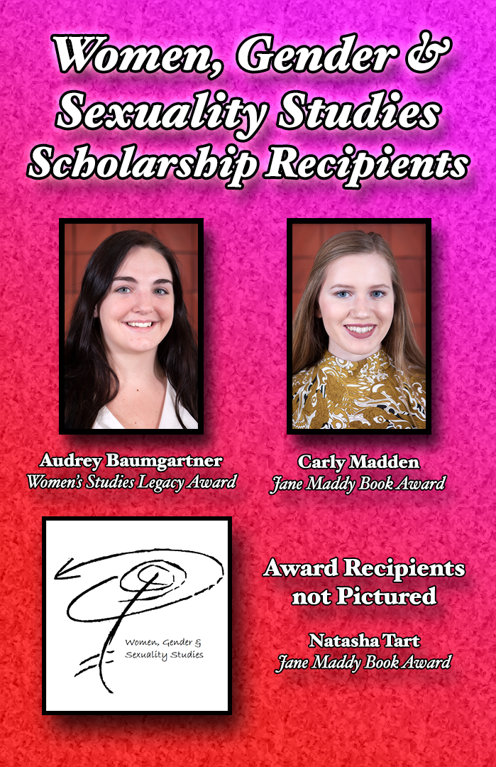 WGSS Scholarship Recipients