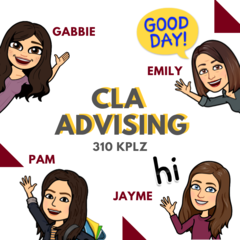 Bitmojis of CLA Advisors