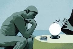 Image of The Thinker contemplating Humanities Data