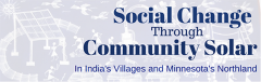 Social Change Through Community Solar-In India's Villages and Minnesota's Northland
