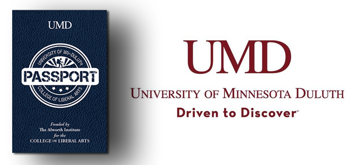 Image of CLA Passport- University of Minnestoa Duluth- Driven to Discover