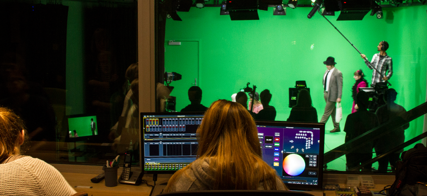 Green screen video production in the MMAD lab